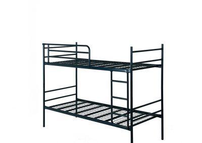 Projectbed stapelbare bedden - in de maten 70, 80 en 90 x 190 en 200 cm ( € 159,-) met los leverbare ladder en uitvalrek a €27,50 per stuk
