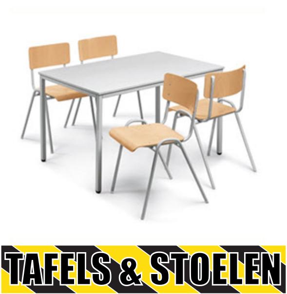 tafels en stoelen op stapelbed.com